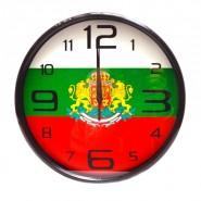 Стенен часовник българското знаме