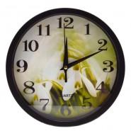 Стенен часовник кокичета