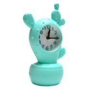 Настолен часовник - кактус