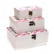 Кутия за бижута 3 в 1