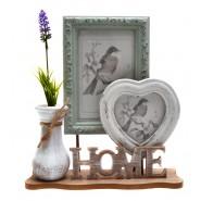 Рамка за снимки 2 в 1 и ваза Home