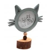 Рамка за снимки коте