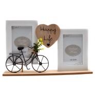 Рамки за снимки 2 в 1 - Happy life