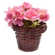 Изкуствено цвете в кошничка