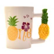 Керамична чаша ананас