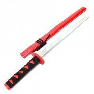 Дървен меч - червен