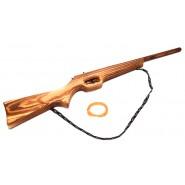 Дървена пушка за игра