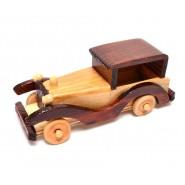 Дървена ретро кола