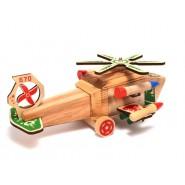 Дървен военен хеликоптер