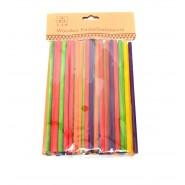 Дървени цветни пръчки