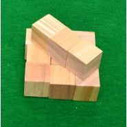 Дървени кубчета