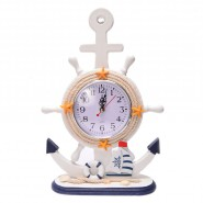 Настолен часовник - котва с рул