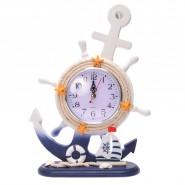 Настолен часовник - рул с котва