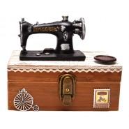 Кутия за бижута шевна машина