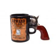 Чаша с дръжка - револвер