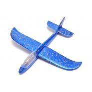 Светещ стиропорен самолет