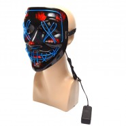 Светеща маска - шевове