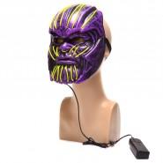 Светеща маска - страшно лице