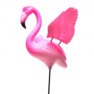 Фигура на пръчка - фламинго
