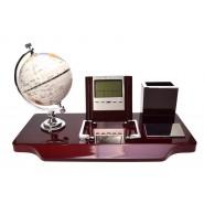 Органайзер за бюро с глобус