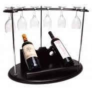 Поставка за вино с чаши