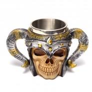 Чаша - череп с рога