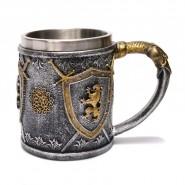 Чаша - лъв и щит