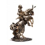 Фигура на рицар върху кон