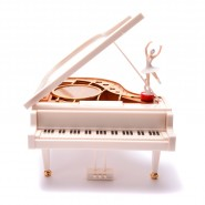Музикална кутия - роял с балерина