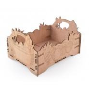 Дървена щайгичка
