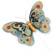 Магнитна пеперуда на постамент