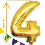 Златен балон - четири с размер