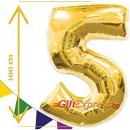 Златен балон - пет с размер