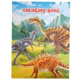 Книжка за оцветяване с динозаври