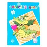 Книжка за оцветяване - крокодилче