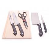 Комплект ножове и дъска