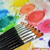 Професионални четки за рисуване - 9 бр.