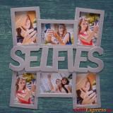"""Рамка за снимки 6 в 1 - """"Selfies"""""""
