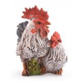 Фигура на петел и кокошка