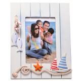 Рамка за снимки - декорирана с морски мотиви