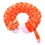 Възглавница за път - оранжев лемур