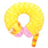 Възглавница за път - жълт лемур