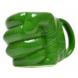 Керамична чаша - зелен юмрук