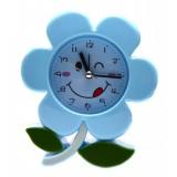 Настолен часовник - цвете